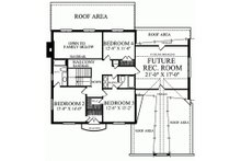 European Floor Plan - Upper Floor Plan Plan #137-137
