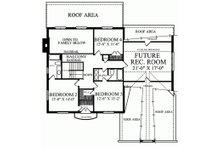 European Floor Plan - Upper Floor Plan Plan #137-137