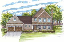 Home Plan - Traditional Exterior - Front Elevation Plan #435-17