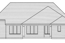 Dream House Plan - European Exterior - Rear Elevation Plan #46-858