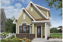 Architectural House Design - Craftsman Exterior - Front Elevation Plan #23-2604