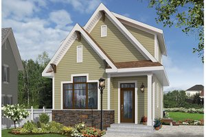 Dream House Plan - Craftsman Exterior - Front Elevation Plan #23-2604
