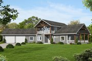 Craftsman Style House Plan - 3 Beds 2 Baths 2208 Sq/Ft Plan #117-880 Exterior - Front Elevation