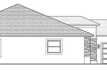 Mediterranean Exterior - Other Elevation Plan #1058-125