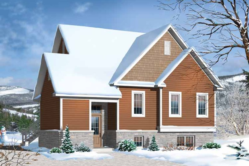Traditional Exterior - Front Elevation Plan #23-2492