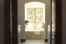 House Plan Design - Mediterranean Interior - Master Bathroom Plan #937-16