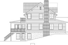 Colonial Exterior - Other Elevation Plan #1061-6