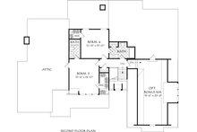 Farmhouse Floor Plan - Upper Floor Plan Plan #927-999