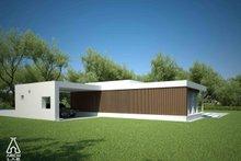 House Plan Design - Modern Exterior - Other Elevation Plan #552-2