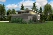 Contemporary Style House Plan - 0 Beds 1 Baths 1136 Sq/Ft Plan #48-1006