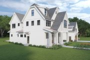 Farmhouse Style House Plan - 5 Beds 5.5 Baths 4034 Sq/Ft Plan #1070-112 Exterior - Other Elevation