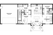 Farmhouse Style House Plan - 2 Beds 2 Baths 928 Sq/Ft Plan #126-175 Floor Plan - Other Floor