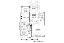 Bungalow Floor Plan - Main Floor Plan Plan #929-38