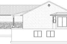 House Plan Design - Ranch Exterior - Other Elevation Plan #1060-16