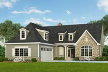Architectural House Design - Cottage Exterior - Front Elevation Plan #929-960