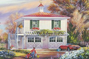 House Plan Design - Traditional Exterior - Front Elevation Plan #137-368
