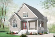 Country Style House Plan - 2 Beds 2 Baths 1561 Sq/Ft Plan #23-2403