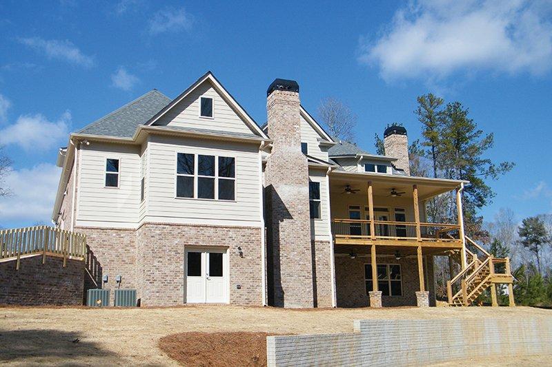 Country Exterior - Rear Elevation Plan #927-374 - Houseplans.com