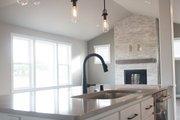 Craftsman Style House Plan - 4 Beds 2.5 Baths 2521 Sq/Ft Plan #1070-35 Interior - Kitchen