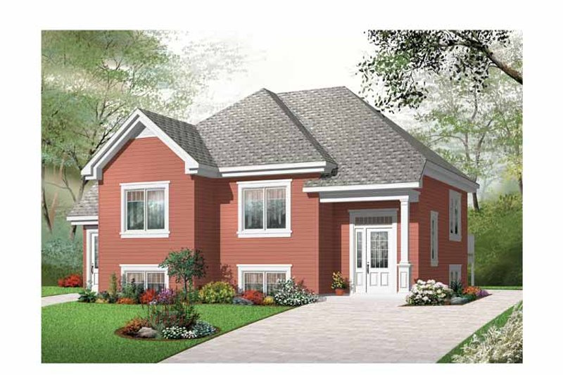 Traditional Exterior - Front Elevation Plan #23-2439 - Houseplans.com