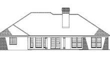 Ranch Exterior - Rear Elevation Plan #17-2624