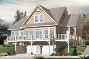 European Style House Plan - 3 Beds 2.5 Baths 2102 Sq/Ft Plan #23-2484