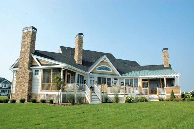 Craftsman Exterior - Rear Elevation Plan #929-361 - Houseplans.com
