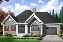 Dream House Plan - Cottage Exterior - Front Elevation Plan #23-2209