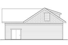 Dream House Plan - Cottage Exterior - Rear Elevation Plan #124-1188