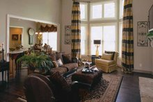 Country Interior - Family Room Plan #927-287