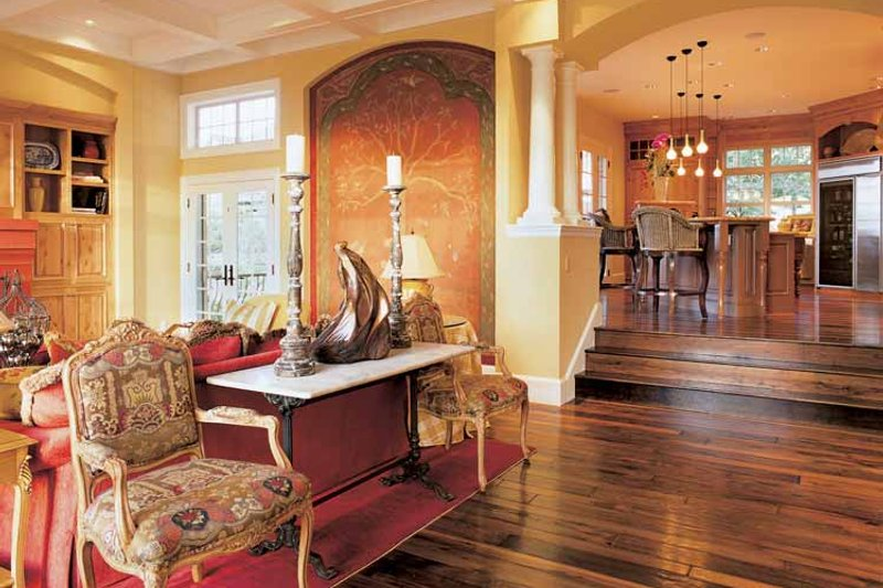 Craftsman Interior - Family Room Plan #48-807 - Houseplans.com