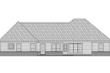 Dream House Plan - Traditional Exterior - Rear Elevation Plan #21-251