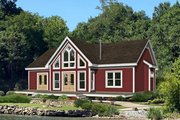 Country Style House Plan - 3 Beds 2 Baths 1368 Sq/Ft Plan #932-305