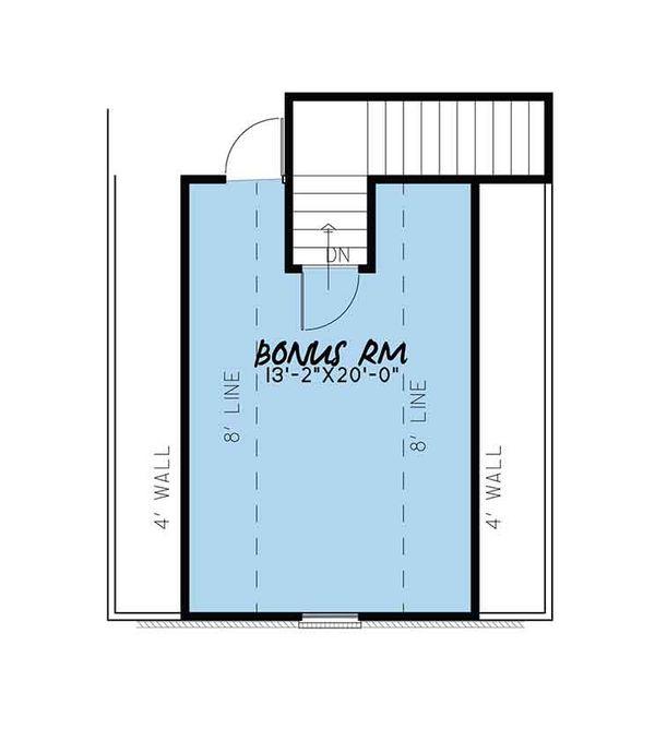 European Floor Plan - Other Floor Plan Plan #17-3409