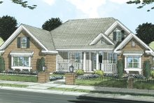 Dream House Plan - Traditional Exterior - Front Elevation Plan #513-2045