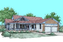 Home Plan Design - Country Exterior - Front Elevation Plan #60-248