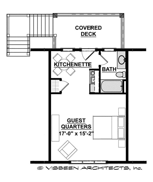 Craftsman Floor Plan - Other Floor Plan Plan #928-280