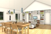 Ranch Style House Plan - 3 Beds 2 Baths 1276 Sq/Ft Plan #497-30