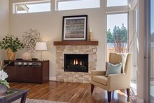Home Plan - Contemporary Interior - Family Room Plan #132-564