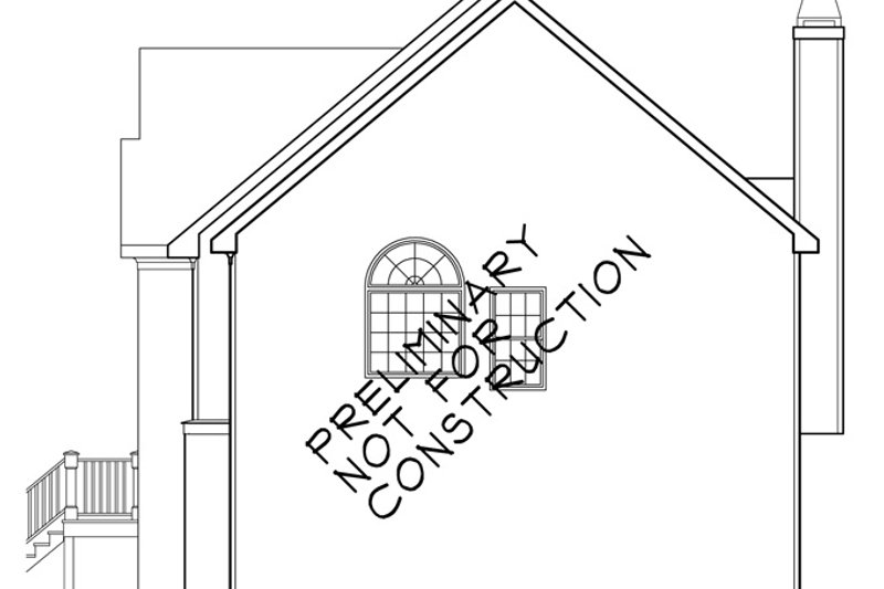 Colonial Exterior - Other Elevation Plan #927-460 - Houseplans.com