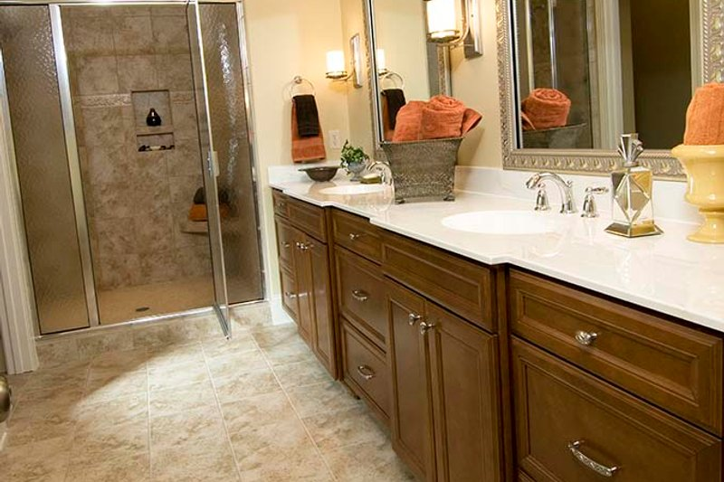 European Interior - Master Bathroom Plan #929-870 - Houseplans.com
