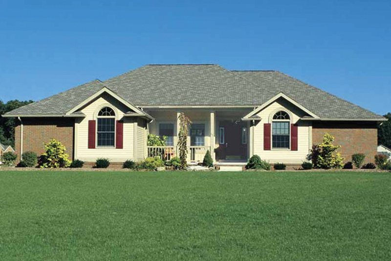 Dream House Plan - Traditional Exterior - Front Elevation Plan #20-2244