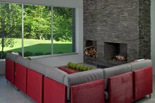 Contemporary Interior - Family Room Plan #928-255