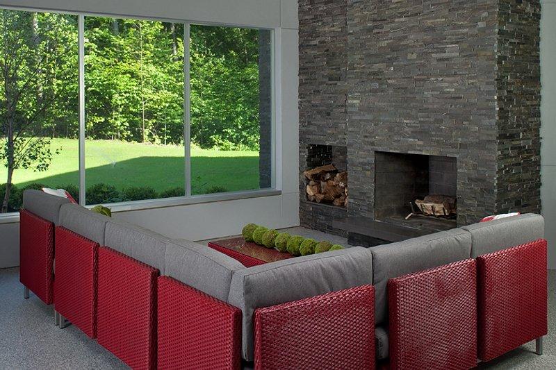 Contemporary Interior - Family Room Plan #928-255 - Houseplans.com