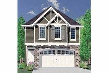 Architectural House Design - Craftsman Exterior - Front Elevation Plan #509-182
