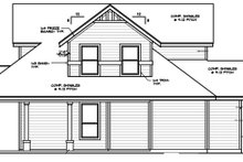 Dream House Plan - Country Exterior - Other Elevation Plan #472-396