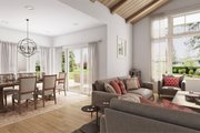 Contemporary Style House Plan - 3 Beds 2 Baths 1878 Sq/Ft Plan #48-944 Interior - Dining Room