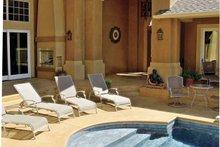 Architectural House Design - Mediterranean Exterior - Rear Elevation Plan #930-57