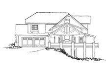 Architectural House Design - Cabin Exterior - Other Elevation Plan #942-36