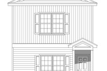 Dream House Plan - Contemporary Exterior - Front Elevation Plan #932-158
